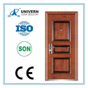 Beautiful Steel Door/ Metal Door/ Iron Door (YF-S103) pictures & photos