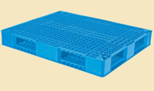 Reversible Grid Heavy Duty Plastic Injection Pallet pictures & photos