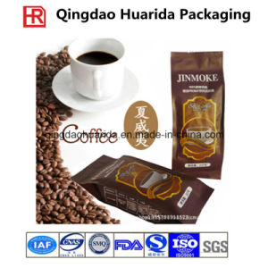 Flat Bottom Plastic Coffee Packaging Bag pictures & photos