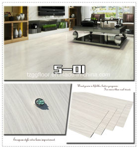 2016 Best Price Waterproof Wooden Floor Laminate PVC Vinyl Flooring pictures & photos