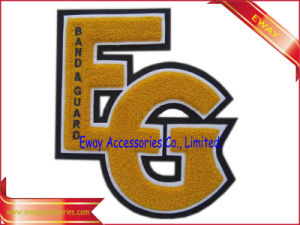 Embroidery Chenille Letters Patches Clothing Felt Patches pictures & photos
