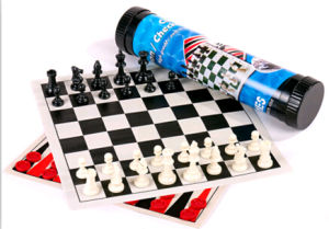 Chess (roll up chess set, include chess backgammon, checker)