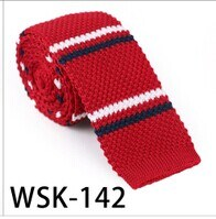 Men′s Fashionable 100% Polyester Knitted Tie (wsk-142) pictures & photos
