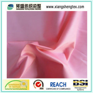 Vertical Bars Polyester Pongee Calendering pictures & photos