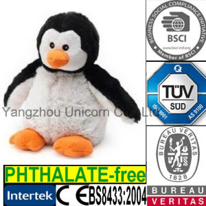 Penguin Stuffed Animal Plush Toy Microwave Heated Bag pictures & photos