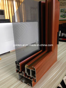 Gd-120 Aluminum Windows for Integration of Screen and Windows for Decoration
