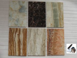 Moisture Proof PVC Film for Exterior Wall Panel/Window/Wall Board Decoration pictures & photos