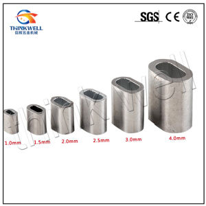 China Us Type Aluminium Sleeve Cable Crimps Wire Rope Ferrules ...