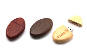 Wood Egg Custom USB Flash Drive WDR14 Style (WD005) pictures & photos