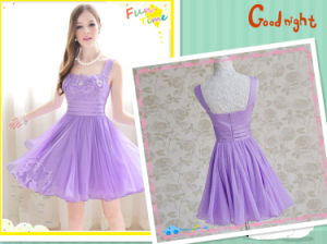 2013 New Arrival Cute Beading Lace Mini Cocktail Ladies Dress