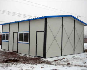 Sandwich Panel Prefabricated House Low Cost for Sale pictures & photos