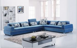 Furniture New Porduct Sectional Fabric Sofa (L. Al608) pictures & photos