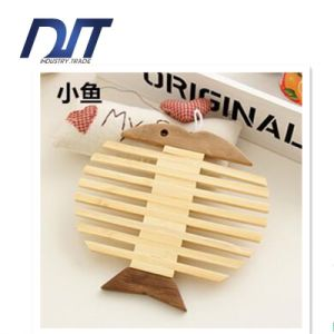 High Quality Apple/Fish Against Hot Bamboo for Placemat pictures & photos