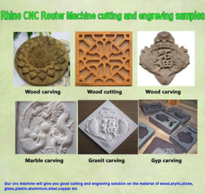 3D Wood Carving Machine CNC Router R-1325 pictures & photos