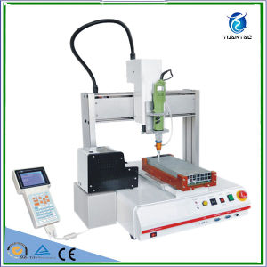 Automatic Epoxy Gluing Dispenser for Electronic Components Adhesive pictures & photos