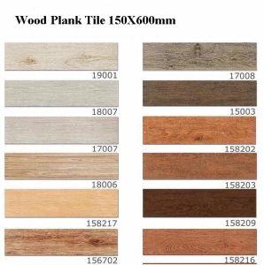 Size Wood Grain Finish Porcelain Floor Tile China Wood Floor Tile