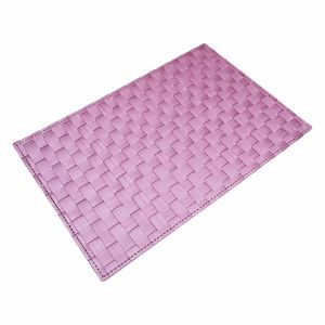 Foamed Matte Polyester Woven Placemat for Tabletop & Flooring pictures & photos