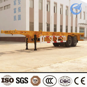 2015 Factory Price Tri-Axle 60 Ton 40ft Container Semi-Trailer pictures & photos