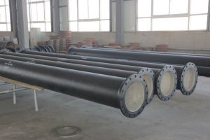 Di Casted Flanged Pipe pictures & photos