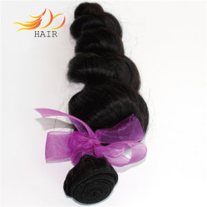 High Quality Loose Wave Brazilian Hair Virgin Human Hair Wefts pictures & photos