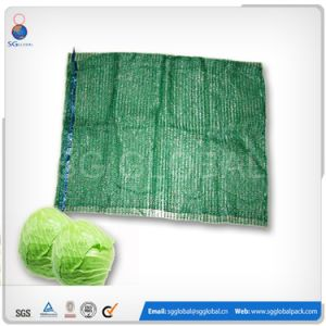 25kg 30kg PE Raschel Bag for Packing Vegetables pictures & photos