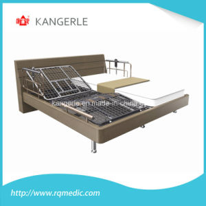ISO/CE Home Care Double Bed. Wooden Bed. China Factory