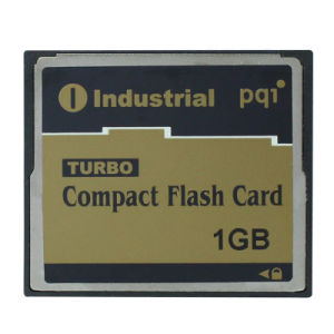 1GB CF Memory Card Compactflash I Pqi Industrial Turbo Compact Flash Card pictures & photos
