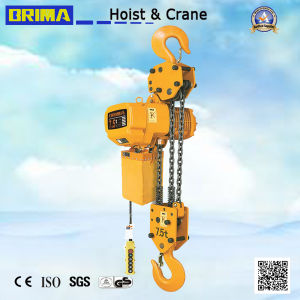 2 Years Warranty 1ton Japan Electric Chain Hoist with Hook 1000kg (BM01-01) pictures & photos