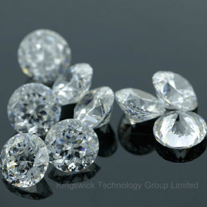 Round 1.0mm to 10mm White Cubic Zirconia Prices Machine Cut pictures & photos