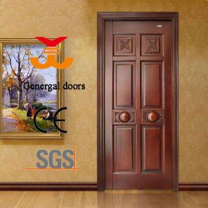 Painting Solid Wooden Timber Door pictures & photos