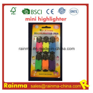 Advertisement Highlighter Marker 6PCS Blister Packing pictures & photos