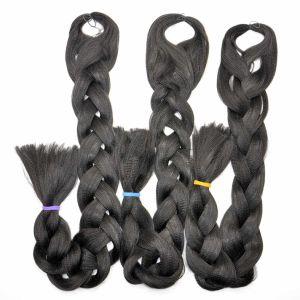 2017 Hair Braid 100% Kanekalon Jumbo Yaki Braiding Hair Wholesale Synthetic Hair Extensions Lbh 033 pictures & photos