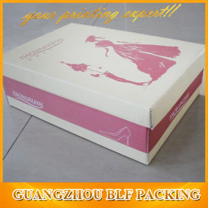 Custom Cardboard Paper Box Shoes (BLF-PBO119) pictures & photos