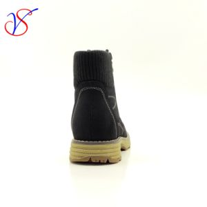 Three Color Men Women Safety Working Work Boots Shoes Sv-Wk-005-Blk pictures & photos
