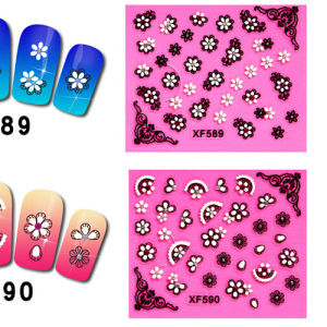 Cheapest 3D Flower Nail Art Sticker pictures & photos