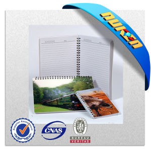 Making Various Design 3D Lenticular Spiral Notebook pictures & photos