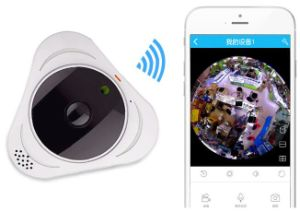 Fish Fish Eye Camera 3D 360 HD 960p WiFi IP Vr Lens pictures & photos