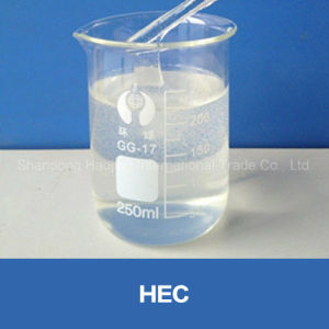 Water Solube Polymer HEC Hydroxyethyl Cellulose Paint Grade Chemical pictures & photos