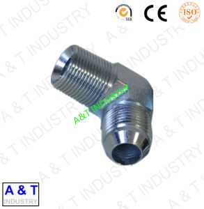 Qingdao Factory Supply Jic/NPT Male 90 Degree Elbow Pipe Fitting pictures & photos
