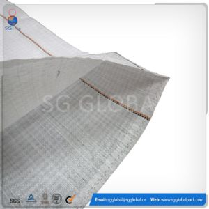 50kg Polypropylene Woven Bag with Strips pictures & photos