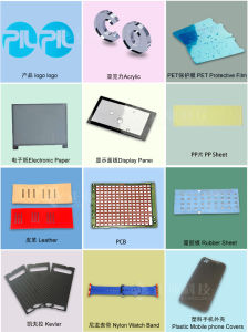 CO2 Laser Cutting Machine for Cutting Plastic Mobile Phone Covers pictures & photos