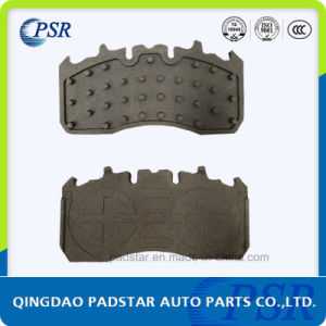 Stable Performance Truck Brake Pads Casting Backing Plate pictures & photos