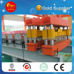High Quality PLC Control Glazed Tile Roll Forming Machine pictures & photos