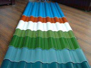 PPGI Color Coated Corrugated Steel Roofing Sheet pictures & photos