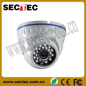 Vandalproof Infrared Dome IP Camera with P2p