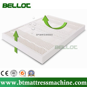 100% Natural Home Furniture Massage Latex Memory Foam Bed Mattress