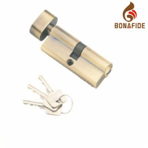 70mm Brass Single Cylinder Lock pictures & photos