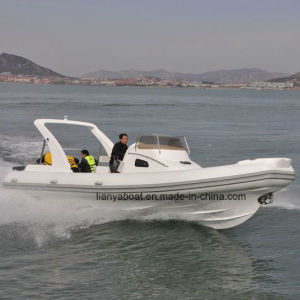 Liya 27ft Hypalon Inflatable Rib Boats Offshore Cabin Rib Boat for Sale pictures & photos