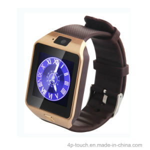 Cheap Price Smart Watch Phone with SIM Card Slot (DZ09) pictures & photos