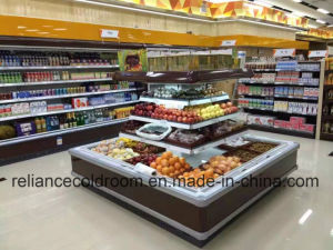 Plug-in Mini Crown Showcases for Supermarket pictures & photos